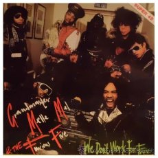 GRANDMASTER MELLE MEL AND THE FURIOUS FIVE - WE DON'T WORK FRO FREE MAXI SINGLE ESPAÑOL