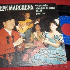 "Discos de vinilo: PEPA MARCHENA VIVA ESPAÑA/SOLA CON TU NOVIO SALES 7"" SINGLE 1974 BELTER. Lote 26666824"