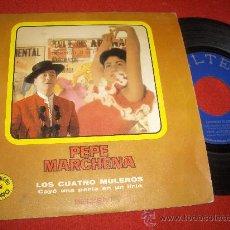 """Discos de vinilo: PEPA MARCHENA LOS CUATRO MULEROS/CAYO UNA PERLA EN UN LIRIO 7"""" SINGLE 1971 BELTER. Lote 26667039"""