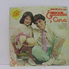 Discos de vinilo: ENRIQUE Y ANA - MULTIPLICA CON... - CON LIBRETO - HISPAVOX 1980. Lote 26667613