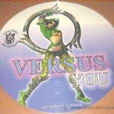 Dischi in vinile: VERSUS - YOU - JAVI BOSS & NOEL PASTOR - LP - PICTURE DISC - CENTRAL RECORDS 2005 - N MINT. Lote 26676592