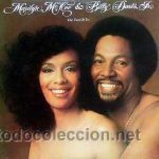 Discos de vinilo: MARILYN MCCOO & BILLY DAVIS JR. – THE TWO OF US ABC RECORDS 1977 USA . Lote 26678288