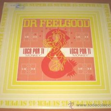 Discos de vinilo: DR FEELGOOD - LOCO POR TI - MAXI - HISPAVOX 1983 SPAIN 549058 - DIFICIL DE CONSEGUIR - RARE - N MINT. Lote 26679564