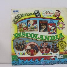 Discos de vinilo: DISCOLANDIA - DOBLE LP - PORTADA ABIERTA - BELTER 1980. Lote 26686940