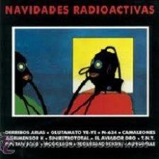Discos de vinilo: NAVIDADES RADIOACTIVAS - ALPHAVILLE - DERRIBOS ARIAS - AVIADOR DRO - SINIESTRO TOTAL - LP 1982. Lote 26689299