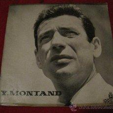 Discos de vinilo: LP-25 CMS-YVES MONTAND-ODEON 1085-ORIG. FRANCE-195??. Lote 26707328