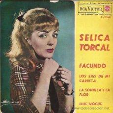 Discos de vinilo: EP-SELICA TORCAL-RCA3-20645-1963. Lote 26707871