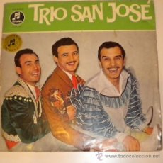 Discos de vinilo: TRIO SAN JOSÉ - COLUMBIA - MADE IN GERMANY -. Lote 26709875