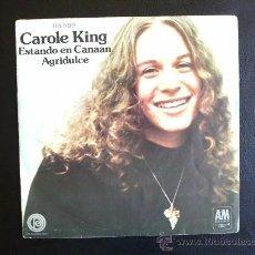 Discos de vinilo: CAROLE KING - ESTANDO EN CANAAN - SINGLE ESPAÑOL. Lote 26713121