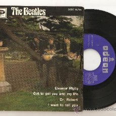 THE BEATLES - ELEANOR RIGBY - FIRST PRESS