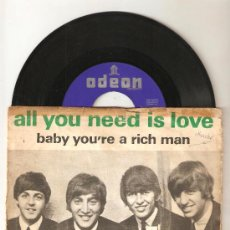Discos de vinilo: THE BEATLES - ALL YOU NEED IS LOVE. Lote 26464229