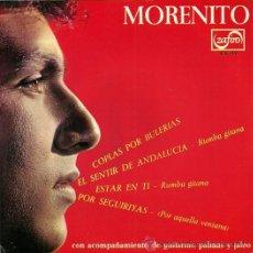 Discos de vinilo: MORENITO EP SELLO ZAFIRO AÑO 1966.. Lote 26713218
