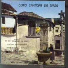 Discos de vinilo: CORO CANTIGAS DA TERRA EP 1961. Lote 26721051