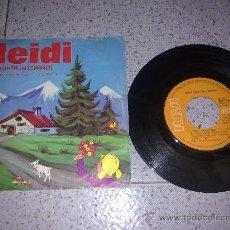 Discos de vinilo: DIFICIL VINILO DE LOS DIBUJOS DE HEIDI CANTA EN ESPAÑOL UNICO!!. Lote 26732687