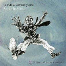 Discos de vinilo: LP FERNANDO ALFARO LA VIDA ES EXTRAÑA Y RARA SURFIN BICHOS CHUCHO VINILO+CD. Lote 52568648