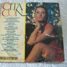 Discos de vinilo: CITA CON,...... Lote 26745480