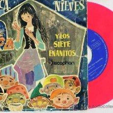 Discos de vinil: BLANCANIEVES Y LOS SIETE ENANITOS - DISCOPHON, 1960. Lote 26766252