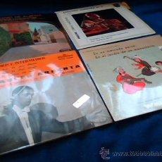 Discos de vinilo: ATAULFO ARGENTA. EL GENIO DE ALBENIZ. RAPSODIA HUNGARA Nº 2. EN UN MERCADO PERSA. LOTE DE 4 SINGLES.. Lote 26766434