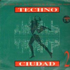 Discos de vinilo: TECHNO CIUDAD .... LP. Lote 26806831