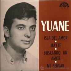 Discos de vinilo: YUANE EP SELLO BERTA AÑO 1973. Lote 26807887
