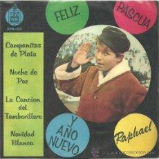 Discos de vinilo: RAPHAEL EP SELLO HISPAVOX EDITADO EN CHILE. Lote 26817927