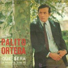 Discos de vinilo: PALITO ORTEGA SINGLE SELLO RCA VICTOR AÑO 1967. Lote 26818248