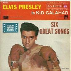 Discos de vinilo: ELVIS PRESLEY EP SELLO RCA VICTOR AÑO 1962. Lote 26818599