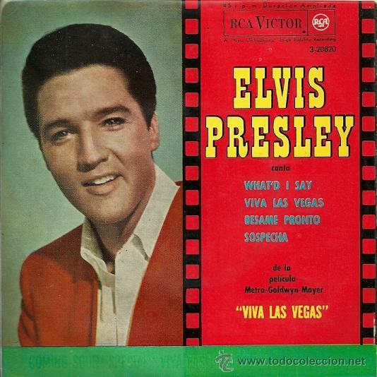 ELVIS PRESLEY EP SELLO RCA VICTOR AÑO 1964 (Música - Discos de Vinilo - EPs - Solistas Españoles de los 50 y 60)