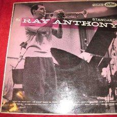 Discos de vinilo: LP-RAY ANTHONY-STANDARS-CAPITOL 663-ORIGINAL UK-195??. Lote 26823093