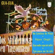 Discos de vinilo: LOS VALLDEMOSA - EP SINGLE VINILO 7'' - EDITADO EN ESPAÑA - NA CATALINA DE PLAÇA + 3 - PHILIPS 1965. Lote 26823224