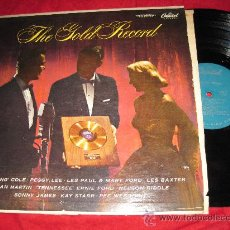 Discos de vinilo: LP-THE GOLD RECORD-CAPITOL 830-ORIG. USA-1957. Lote 26823579