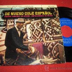 """Discos de vinilo: NAT KING COLE AQUI SE HABLA EN AMOR /LA GOLONDRINA/VAYA CON DIOS/NO ME HAGAS RECORDAR 7"""" EP 1962. Lote 26836242"""