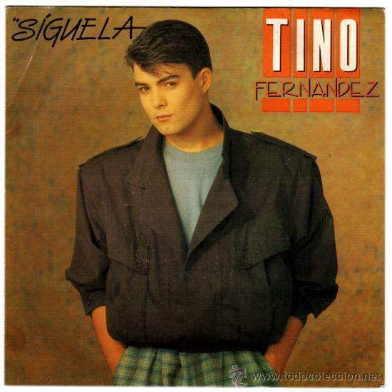 TINO FERNANDEZ (EX-PARCHIS) – SÍGUELA / CASI, CASI AMOR – SG PROMO SPAIN 1985 – RCA PB-7866 (Música - Discos de Vinilo - EPs - Solistas Españoles de los 70 a la actualidad)