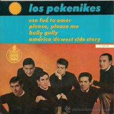 Discos de vinilo: LOS PEKENIKES EP SELLO HISPAVOX EDITADO EN FRANCIA. Lote 26845993