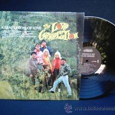 Discos de vinilo: LP THE LOVE GENERATION THE GENERATION OF LOVE ED. USA PSYCO. Lote 26849411