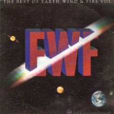 Discos de vinilo: EARTH, WIND & FIRE - THE BEST OF EARTH, WIND & FIRE VOL. II - LP 1988. Lote 26863831