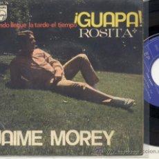 Discos de vinilo: EP 45 RPM / JAIME MOREY / GUAPA /// EDITADO POR PHILIPS . Lote 26859308