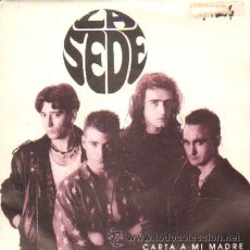 Discos de vinilo: LA SEDE CARTA A MI MADRE. Lote 26868259