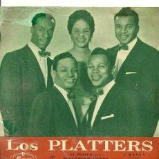Discos de vinilo: THE PLATTERS EP SELLO MERCURY AÑO 1958. Lote 26872610