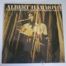 Discos de vinilo: LP ALBERT HAMMOND. Lote 28351522