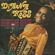 Discos de vinilo: DIANA ROSS SINGLE SELLO TAMLA MOTOWN AÑO 1972. Lote 26872741