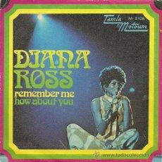 Discos de vinilo: DIANA ROSS SINGLE SELLO TAMLA MOTOWN AÑO 1972. Lote 26872748