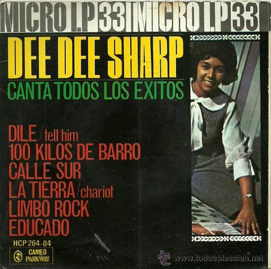 DEE DEE SHARP EP SELLO HISPAVOX AÑO 1963 (Música - Discos de Vinilo - EPs - Funk, Soul y Black Music)