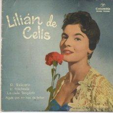 Discos de vinilo: LILIAN DE CELIS,EL RELICARIO. Lote 26875758