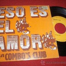 """Discos de vinilo: COMBO'S CLUB ESO ES EL AMOR / FREDERICA 7"""" SINGLE 1975 RCA VICTOR PROMO. Lote 26906337"""