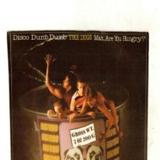 Discos de vinilo: UXV THE DOGS SINGLE PROMOCIONAL 1980 DISCO DUMB DUMB / MAN , ARE YOU HUNGRY PERA KALLIO POP ROCK . Lote 26914180