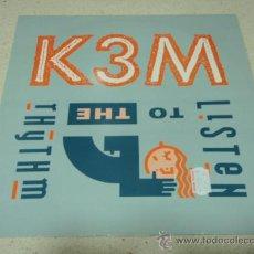 Discos de vinilo: KEM ( LISTEN TO THE RHYTHM 3 VERSIONES ) ENGLAND - 1992 MAXI45 PWL RECORDS. Lote 26947311