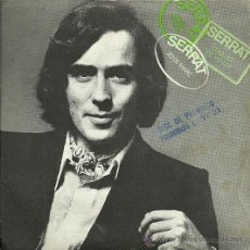 Discos de vinilo: JOAN MANUEL SERRAT EP SELLO EDIGSA AÑO 1970 (PROMOCIONAL) . Lote 26967429