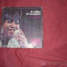 Dischi in vinile: ARETHA FRANKLIN SINGLE PIENSA SPA HISPAVOX 1968. Lote 26976041