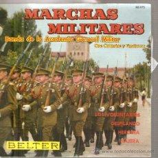 Discos de vinilo: EP BANDA DE LA ACADEMIA GENERAL MILITAR - MARCHAS MILITARES . Lote 26984155